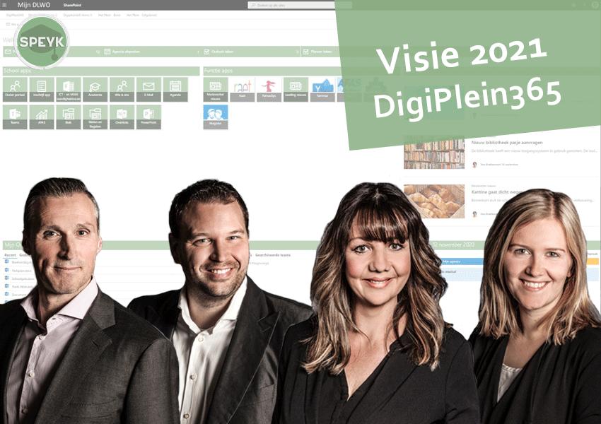 Onze visie voor DigiPlein365 in 2021