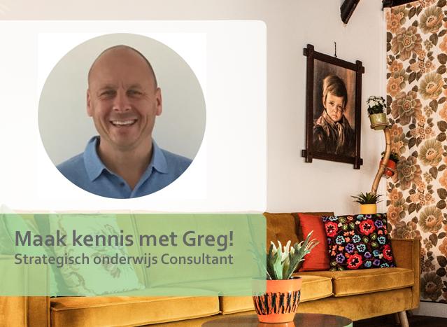 Nieuwe kennis in Onderwijsteam: dit is Greg!